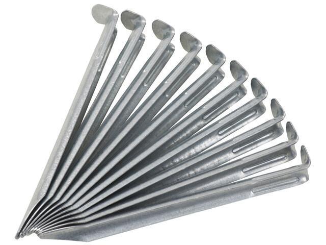 CAMPZ - Sardines acier galvanisé - 17 cm